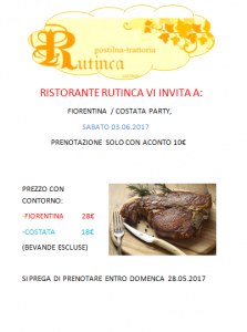 Fiorentina-Costata Party